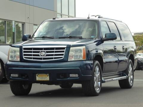 2005 Cadillac Escalade ESV for sale at Loudoun Used Cars - LOUDOUN MOTOR CARS in Chantilly VA