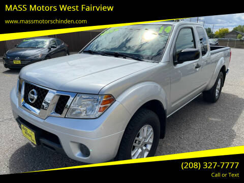 2014 Nissan Frontier for sale at M.A.S.S. Motors - West Fairview in Boise ID