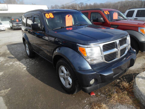 2008 Dodge Nitro for sale at VEST AUTO SALES in Kansas City MO