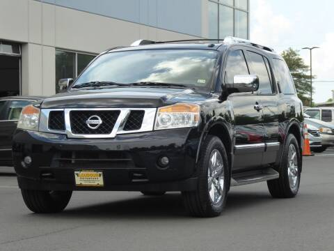 2011 Nissan Armada for sale at Loudoun Used Cars - LOUDOUN MOTOR CARS in Chantilly VA