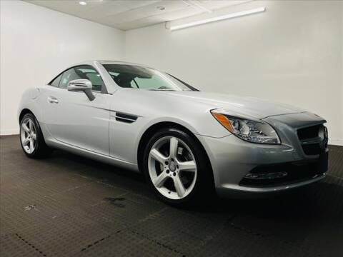 2015 Mercedes-Benz SLK for sale at Champagne Motor Car Company in Willimantic CT
