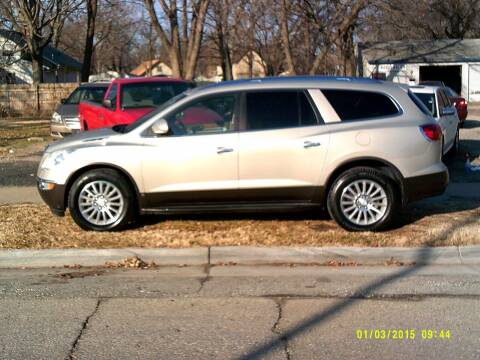 2009 Buick Enclave for sale at D & D Auto Sales in Topeka KS