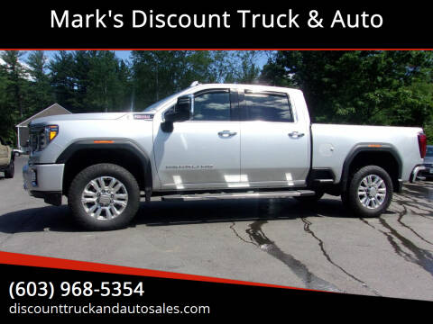 2020 GMC Sierra 2500HD for sale at Mark's Discount Truck & Auto in Londonderry NH