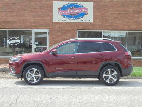 2020 Jeep Cherokee for sale at Eyler Auto Center Inc. in Rushville IL