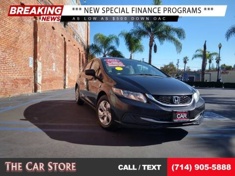 2015 Honda Civic for sale at The Car Store in Santa Ana CA