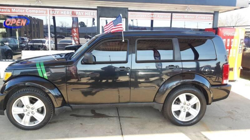 2011 Dodge Nitro for sale at Davis Motor Company in Durant OK
