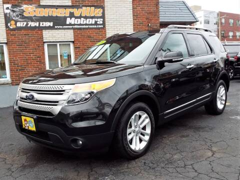 2014 Ford Explorer for sale at Somerville Motors in Somerville MA