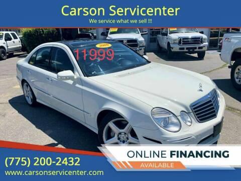 2009 Mercedes-Benz E-Class for sale at Carson Servicenter in Carson City NV