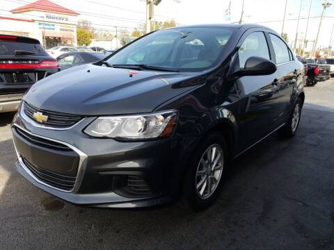 2017 Chevrolet Sonic for sale at Martins Auto Sales in Shelbyville KY