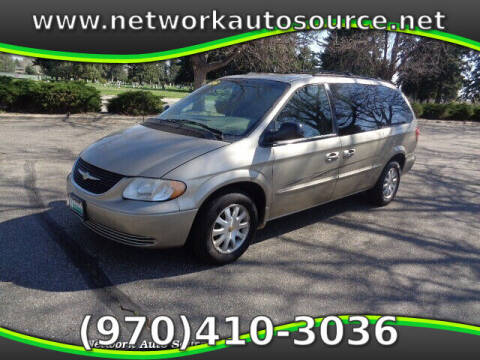 2002 Chrysler Town and Country for sale at Network Auto Source in Loveland CO