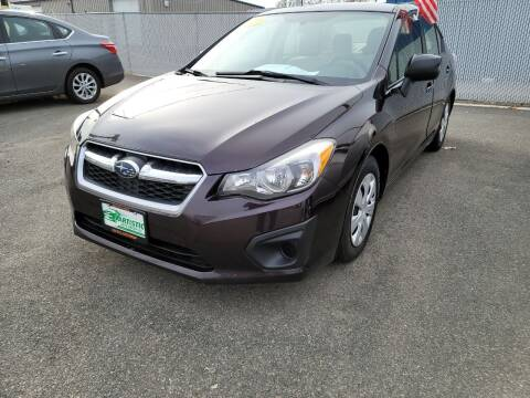 2012 Subaru Impreza for sale at Artistic Auto Group, LLC in Kennewick WA