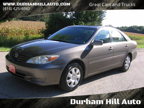 2003 Toyota Camry for sale at Durham Hill Auto in Muskego WI