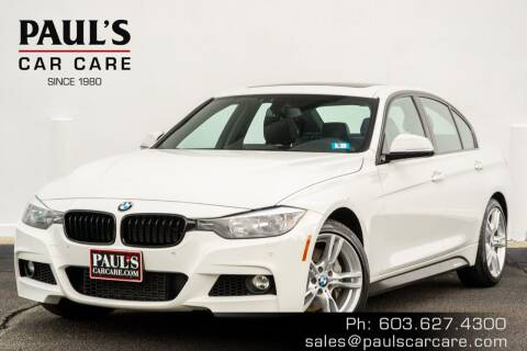 2015 BMW 3 Series for sale at Paul's Car Care in Manchester NH