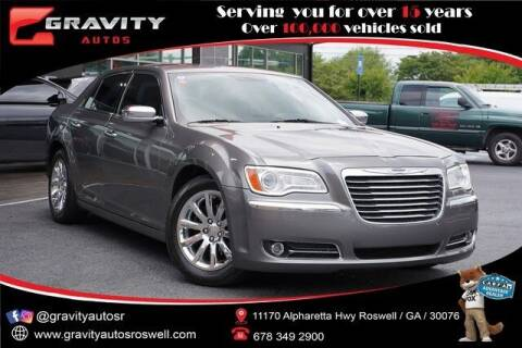 2012 Chrysler 300 for sale at Gravity Autos Roswell in Roswell GA