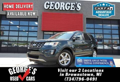 2016 Ford Explorer for sale at George's Used Cars - Pennsylvania & Allen in Brownstown MI