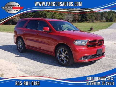 2014 Dodge Durango for sale at Parker's Used Cars in Blenheim SC