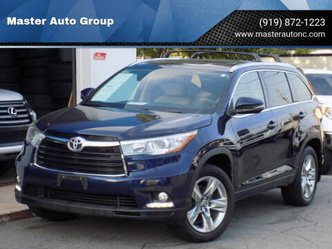 2016 Toyota Highlander for sale at Master Auto Group in Raleigh NC