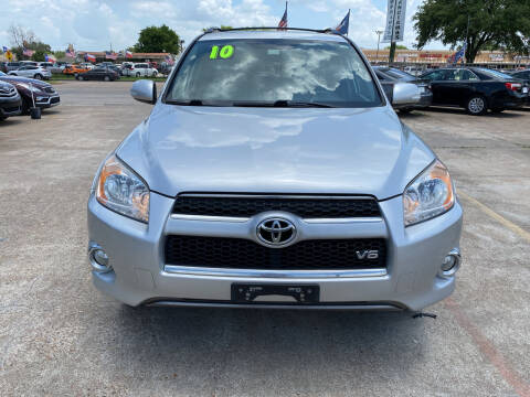 2010 Toyota RAV4 for sale at SOUTHWAY MOTORS in Houston TX