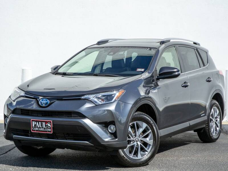 2018 Toyota RAV4 Hybrid for sale at Paul's Car Care in Manchester NH