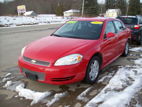2013 Chevrolet Impala for sale at Summit Auto Inc in Waterford PA
