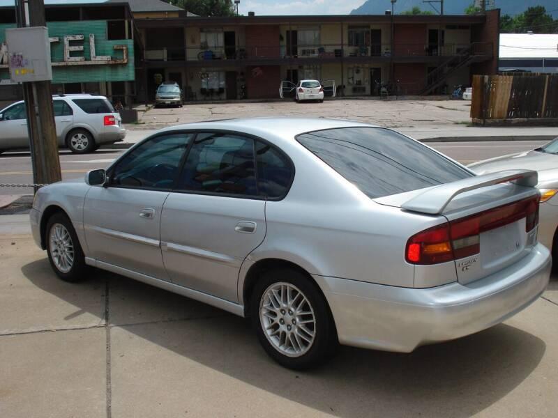 2003 Subaru Legacy for sale at Frontier Motors Ltd in Colorado Springs CO
