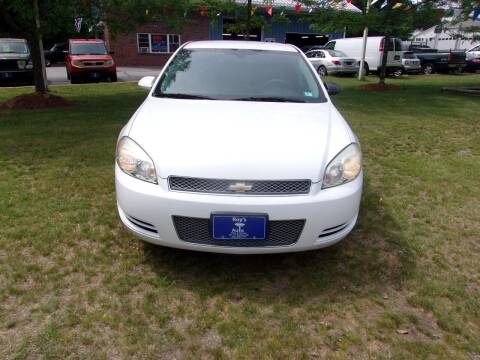 2013 Chevrolet Impala for sale at Roys Auto Sales & Service in Hudson NH