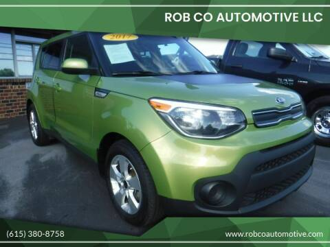 2017 Kia Soul for sale at Rob Co Automotive LLC in Springfield TN