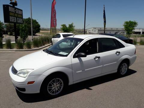 2007 Ford Focus for sale at More-Skinny Used Cars in Pueblo CO