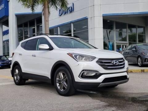 2018 Hyundai Santa Fe Sport for sale at DORAL HYUNDAI in Doral FL