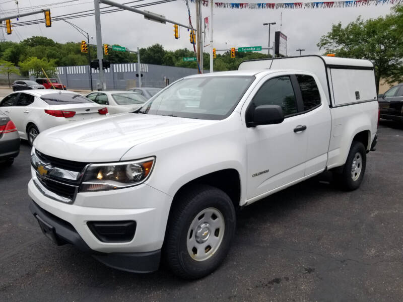 2015 Chevrolet Colorado for sale at Cedar Auto Group LLC in Akron OH