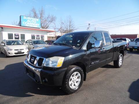 2005 Nissan Titan for sale at Surfside Auto Company in Norfolk VA