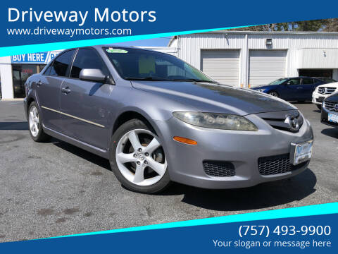 2007 Mazda MAZDA6 for sale at Driveway Motors in Virginia Beach VA