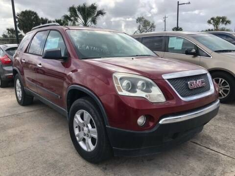 2009 GMC Acadia for sale at Brownsville Motor Company in Brownsville TX
