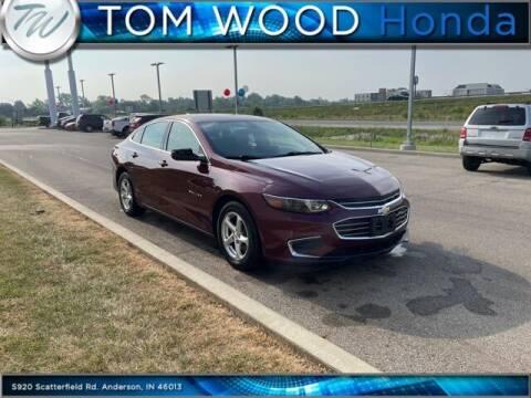 2016 Chevrolet Malibu for sale at Tom Wood Honda in Anderson IN