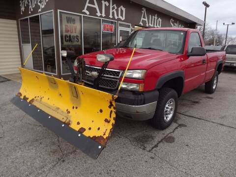 2005 Chevrolet Silverado 2500HD for sale at Arko Auto Sales in Eastlake OH