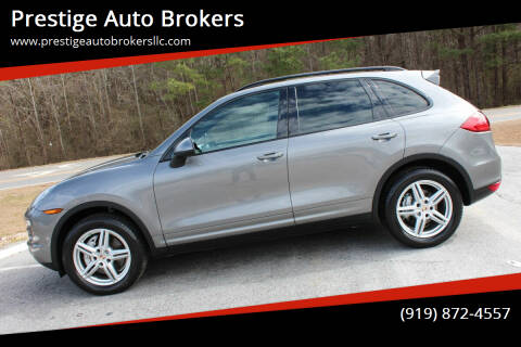 2012 Porsche Cayenne for sale at Prestige Auto Brokers in Raleigh NC