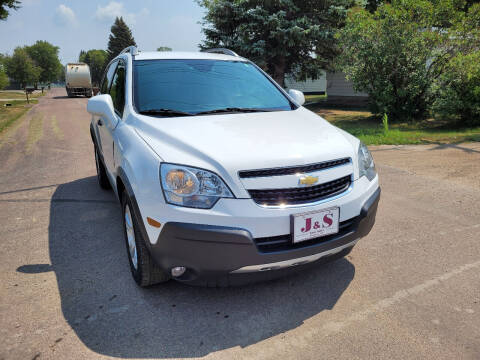 2014 Chevrolet Captiva Sport for sale at J & S Auto Sales in Thompson ND