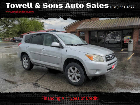 2007 Toyota RAV4 for sale at Towell & Sons Auto Sales in Manila AR