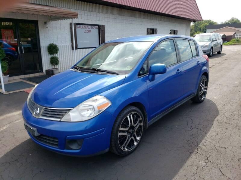 2007 Nissan Versa for sale at Salem Auto Sales in Salem VA