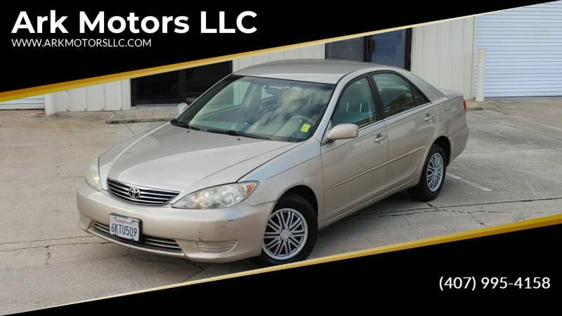 2005 Toyota Camry for sale at Ark Motors LLC in Winter Springs FL