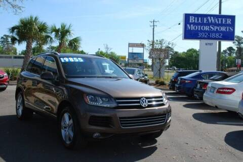 2014 Volkswagen Touareg for sale at BlueWater MotorSports in Wilmington NC