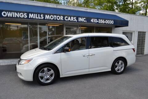 2013 Honda Odyssey for sale at Owings Mills Motor Cars in Owings Mills MD