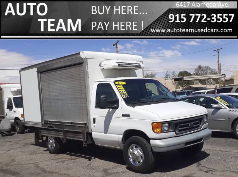 2007 Ford E-Series Chassis for sale at AUTO TEAM in El Paso TX