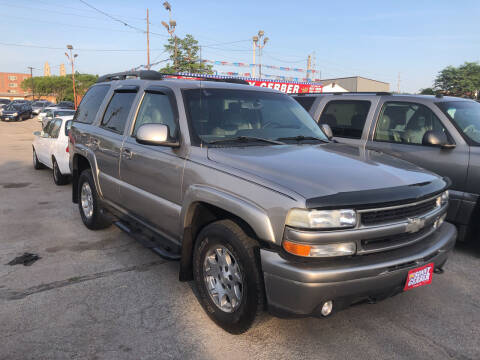 2003 Chevrolet Tahoe for sale at Sonny Gerber Auto Sales in Omaha NE