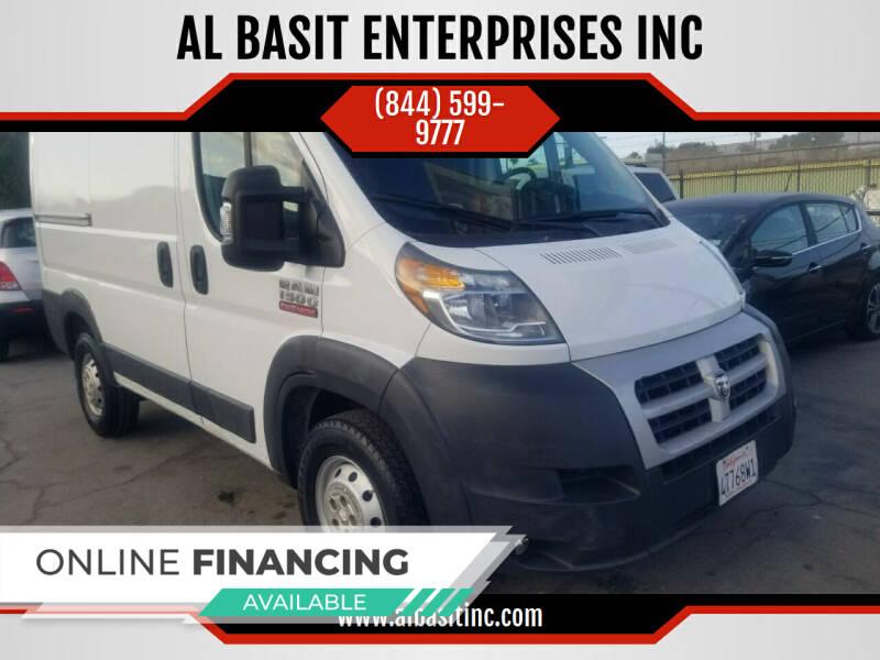 2016 RAM ProMaster Cargo for sale at AL BASIT ENTERPRISES INC in Riverside CA