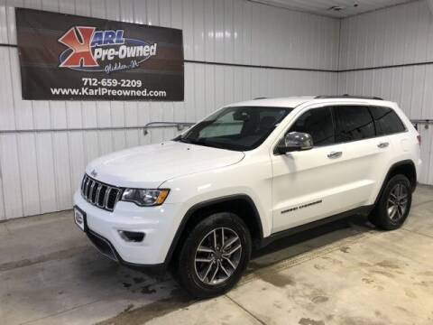 2019 Jeep Grand Cherokee for sale at Karl Pre-Owned in Glidden IA