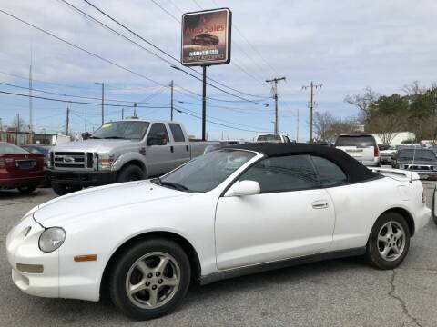 1999 Toyota Celica for sale at T.K. AUTO SALES LLC in Salisbury NC
