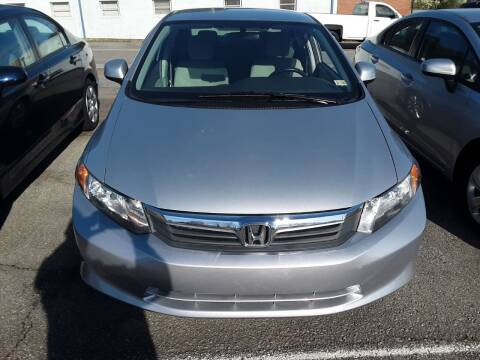 2012 Honda Civic for sale at Auto Villa in Danville VA