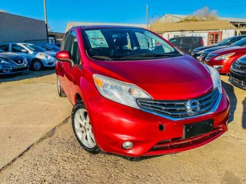 2014 Nissan Versa Note for sale at MAGNA CUM LAUDE AUTO COMPANY in Lubbock TX