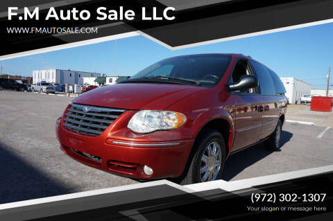 2005 Chrysler Town and Country for sale at F.M Auto Sale LLC in Dallas TX